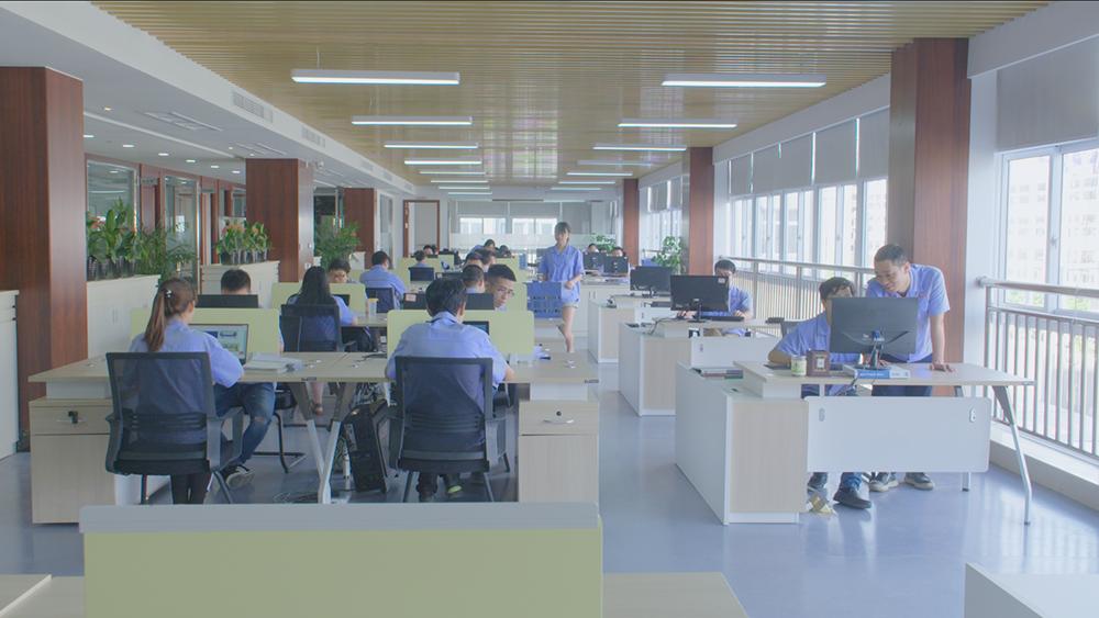 技術研發辦公區域展示